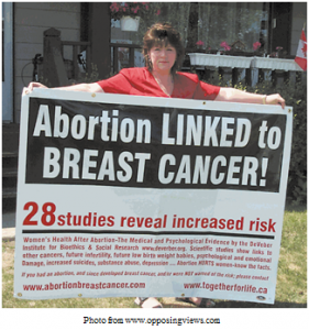 Women, Multiple Abortions, Breast Cancer, Link, Risk, Pregnancy